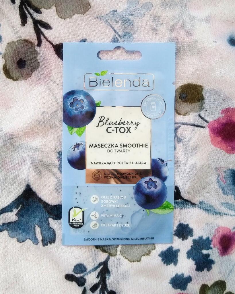 maseczka smoothie bielenda blueberry
