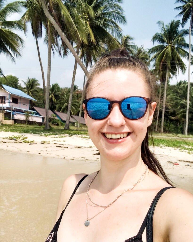 zdjęcie z plaży w Chumphon w Tajlandii
