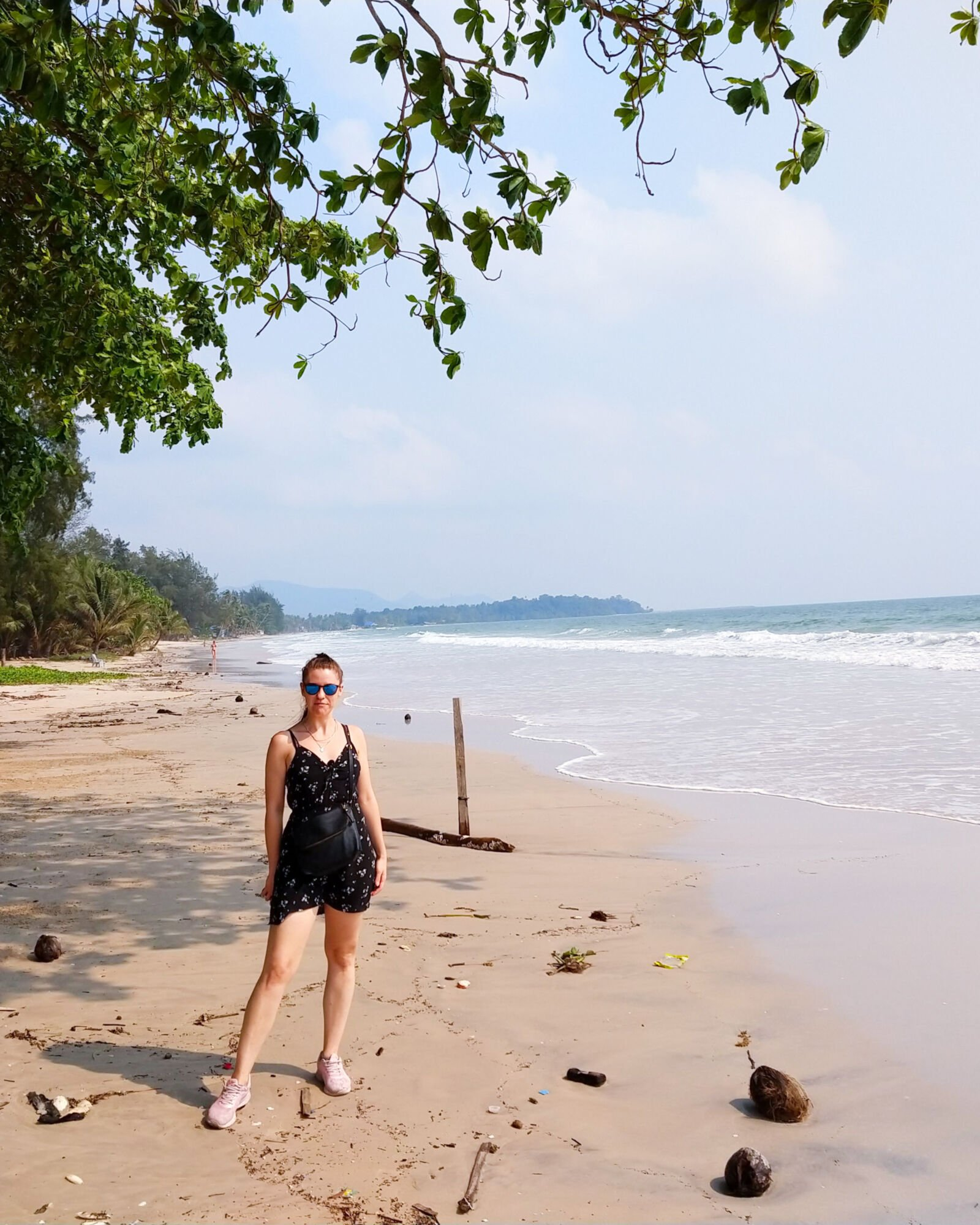 ja na plaży