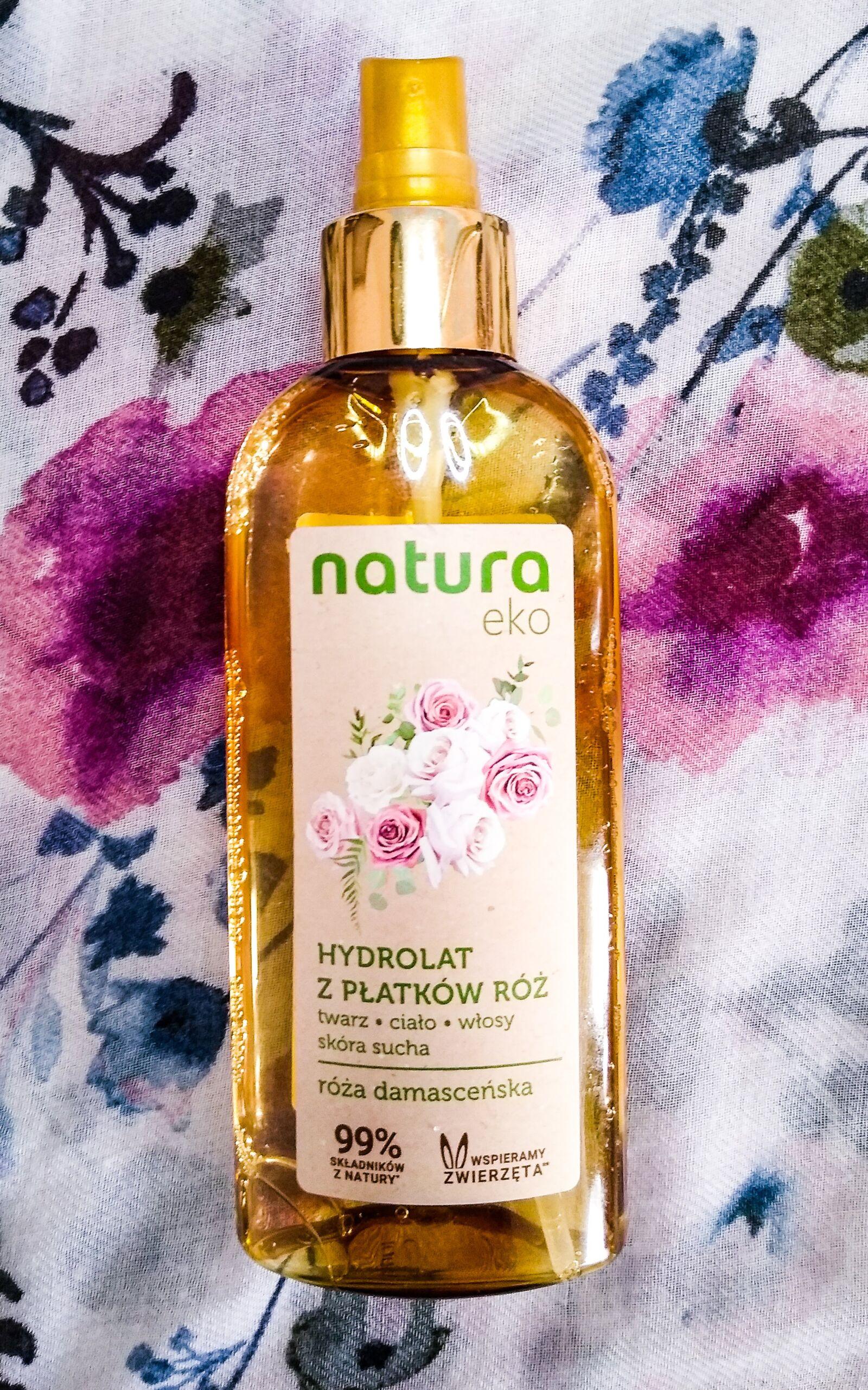 hydrolat z płatków róży Natura Eko
